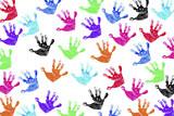 Fototapety Children's Handprints