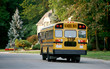 School Bus in Neighborhood - 4378302