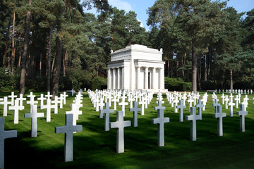 The American Plot at Brookwood Military Cemetery in England