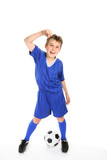 Soccer win poster