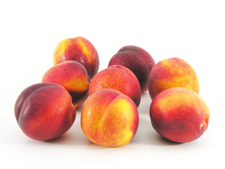 Nectarines, brugnons, pêches