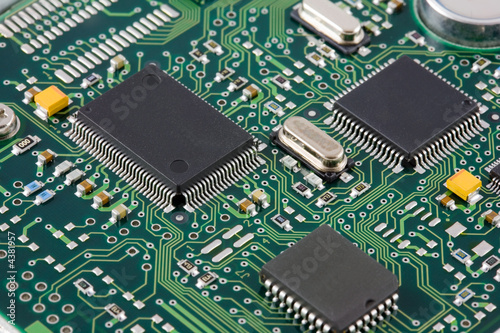 canvas print picture Printed circuit board