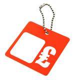 Price tag GBP symbol poster