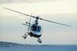 Leinwandbild Motiv elicottero