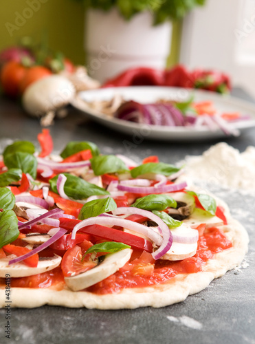 Pizza Making Detail