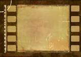 Fototapety Grunge film frame