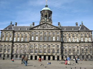 Town Hall in Amsterdam