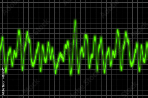 Speech vibration wave