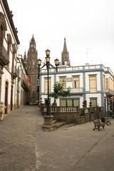 calles goticas y tropicales en gran canarias