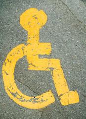 Handicap stall