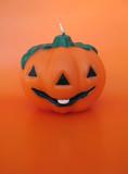 Halloween Wax Pumpkin poster