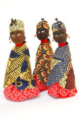 Rag-dolls from Swaziland