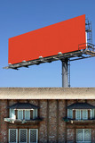 Place your add on this billboard (with clipping paths) poster