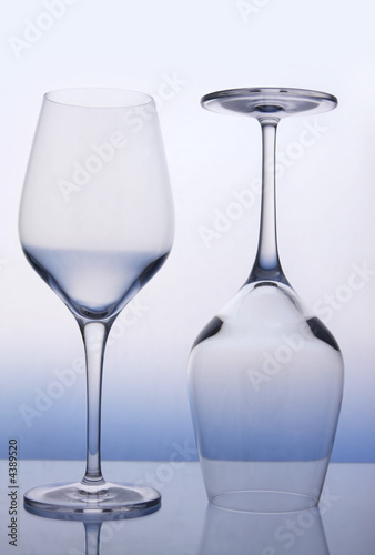 Wine Glasses плакат