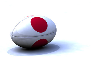 Ballon Rugby Japon