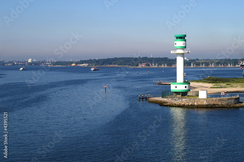 Lighthouse in the Kieler førde in Germany