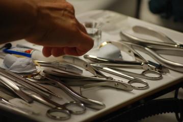 Fusspflege Instrumente