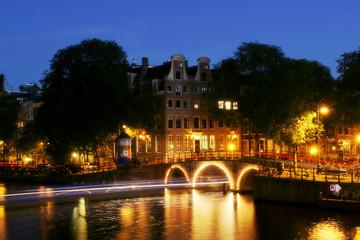 Evening Amsterdam.