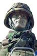 Infanterist mit Helm