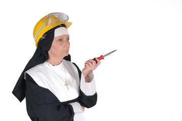 DIY nun, sister