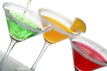 Multicolor cocktails & citrus 2
