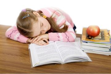 homework is tiring
