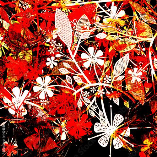 Obraz red flowers