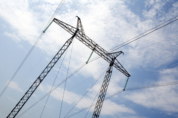 the power transmission line