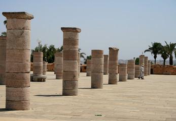 ruines d'une mosquée au maroc