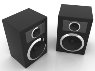 Loudspeakers with equalizer.