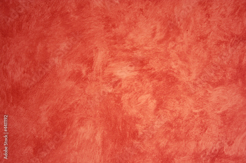 Red Faux Painted wall