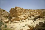 rock in sede boker desert, israel poster