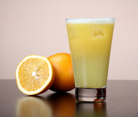 Juice Orange-fruits juice