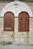 local synagogue, jerusalem, israel poster