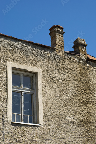 window and chimney