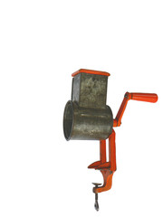old traditional nut mill