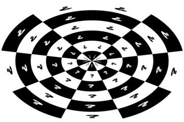 im Kreis drehen