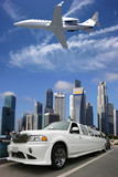 Fototapety Drive, fly, travel and enjoy life in Singapore