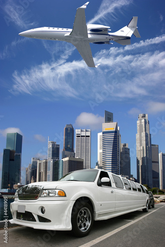Plexiglas Singapore Drive, fly, travel and enjoy life in Singapore