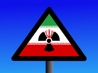 Iranian radioactivity sign