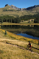 Mountain Biking on the Colorado Trail