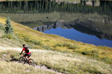 Single Track Mountain Biking
