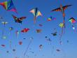 Leinwanddruck Bild - Drachenfliegen