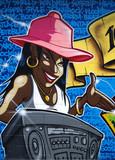 hip hop bougeotte poster