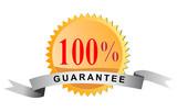 100% guarantee poster
