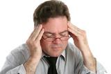 Severe Headache Pain poster