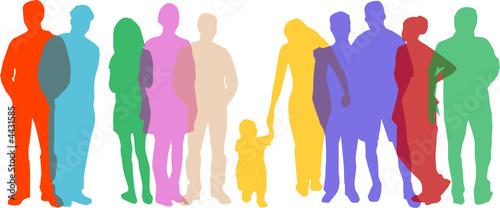 Gruppe von Menschen
