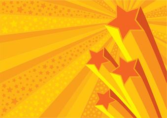 Stars Background (editable vector or jpeg image)