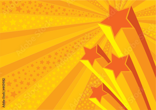 Stars Background (editable vector or jpeg image)