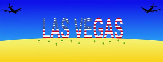 planes flying to Las Vegas
